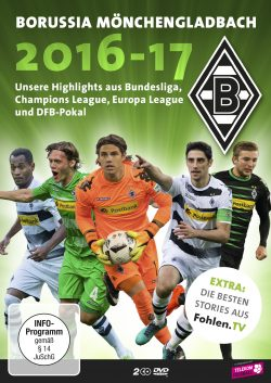 Borussia Mönchengladbach 2016-17 DVD Front
