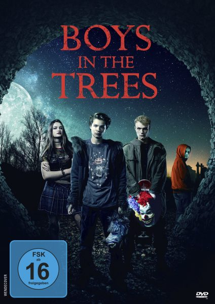 Boys in the trees DVD Front