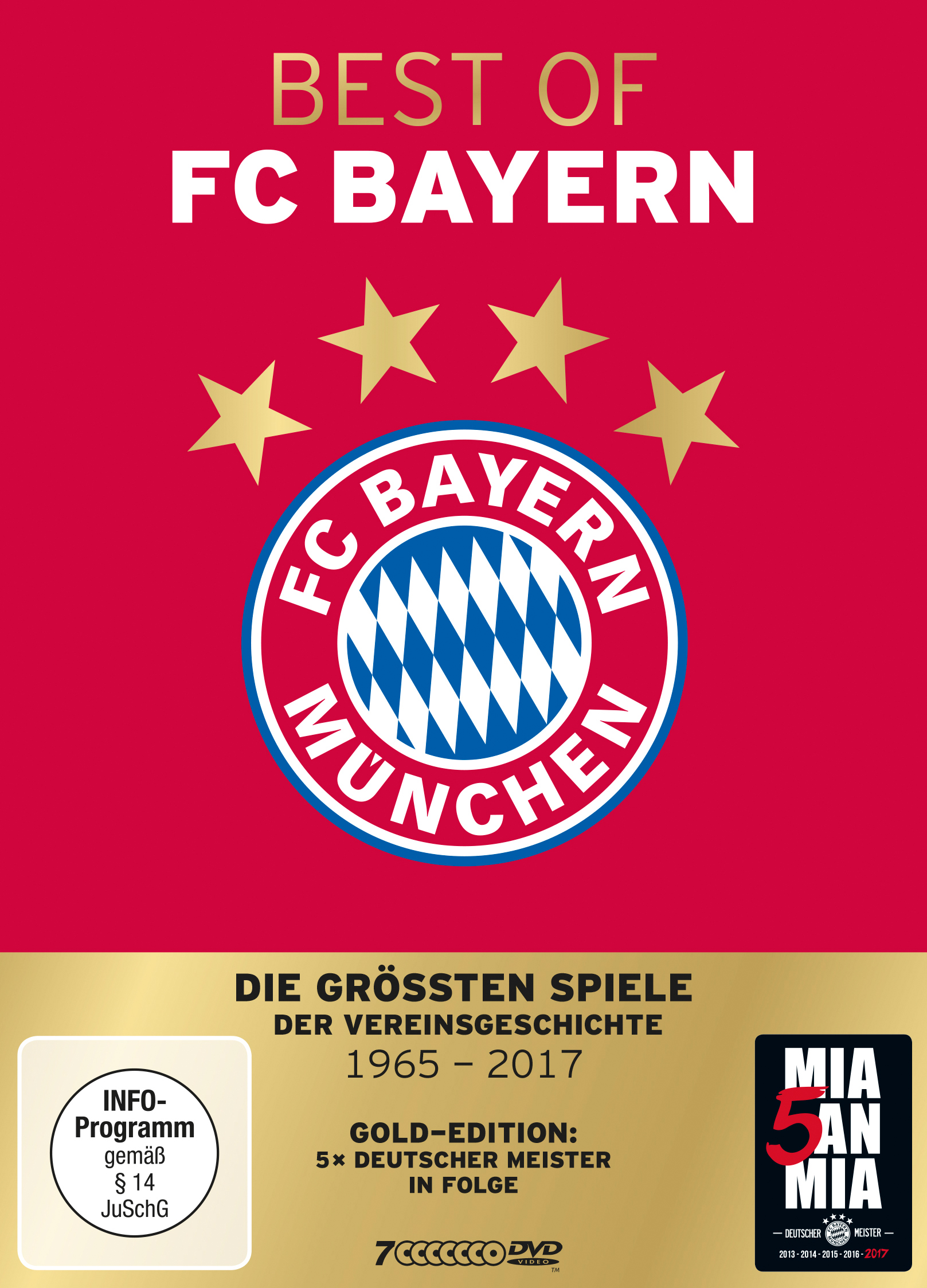 Best of FC Bayern – Gold Edition (7 DVDs)