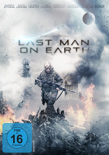 Last Man on Earth DVD Front