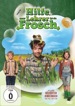 Hilfe, unser Lehrer ist ein Frosch DVD Front