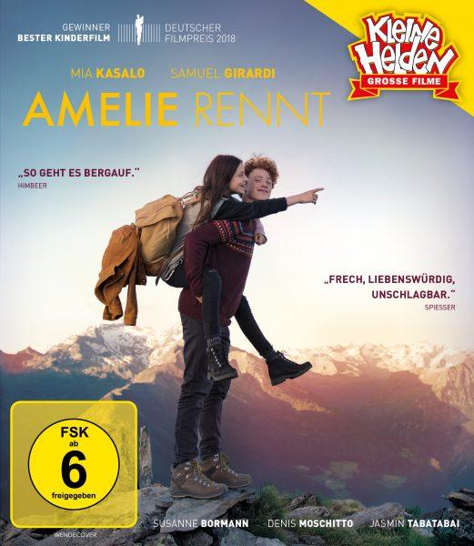 Amelie rennt BD Front