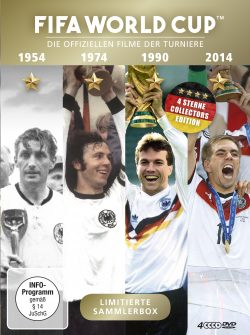 FIFA WORLD CUP 54 * 74 * 90 * 14 DVD Front