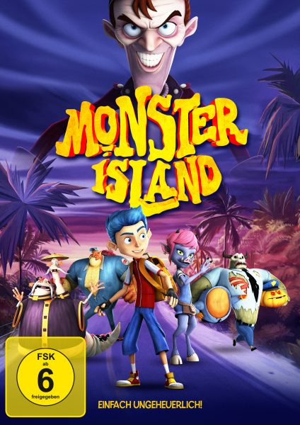 Monster Island DVD Front