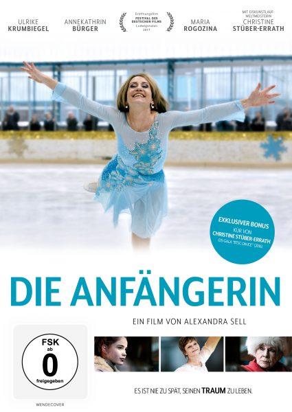 Die Anfängerin DVD Front
