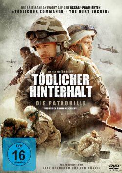 Tödlicher Hinterhalt DVD Front