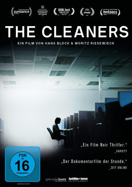 The Cleaners DVD Front