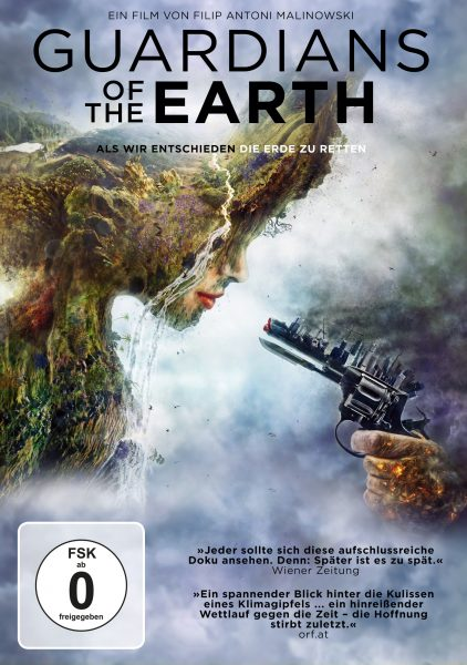 Guardians of the Earth DVD Vorabcover