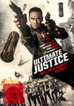 Ultimate Justice DVD Front