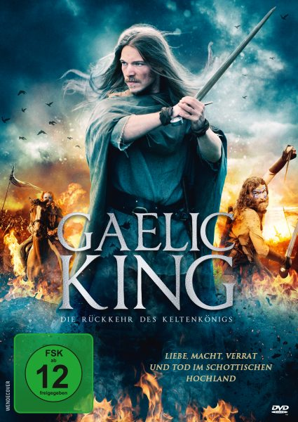 The Gaelic King DVD Front