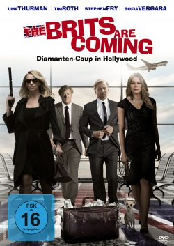 The Brits are coming DVD Front