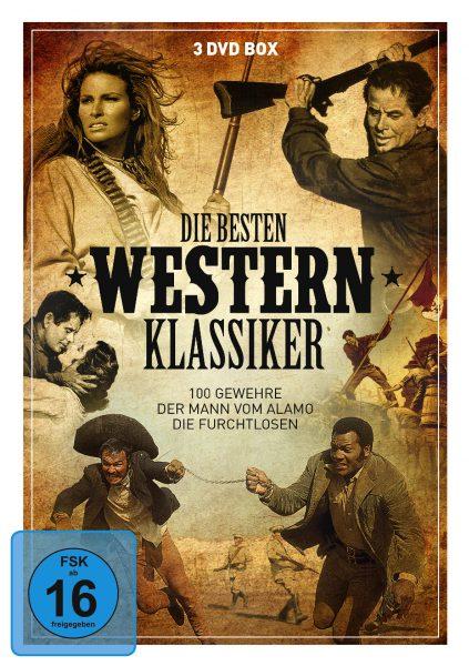 Die besten Westernklassiker DVD Front