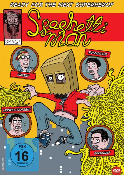 Spaghettiman DVD Front