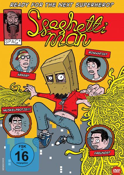 Spaghettiman DVD Front