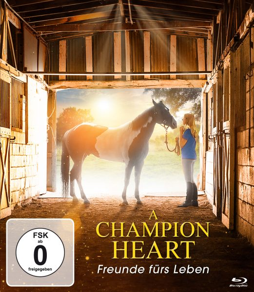 A Champion Heart BD Front