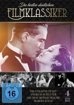 Die besten deutschen Filmklassiker DVD Front
