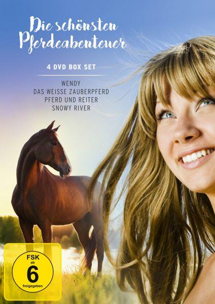 Die schönsten Pferdeabenteuer DVD Front