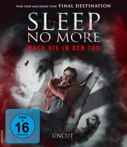 Sleep No More BD Front