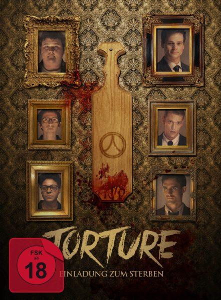 Torture Mediabook Front