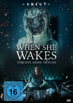 When She Wakes DVD Front