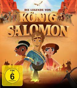 Die Legende von König Salomon BD Front