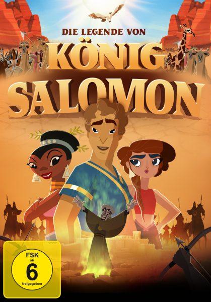 Die Legende von König Salomon DVD Front