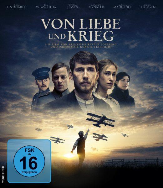 Von Liebe und Krieg BD Front