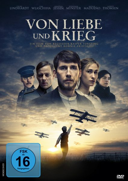 Von Liebe und Krieg DVD Front