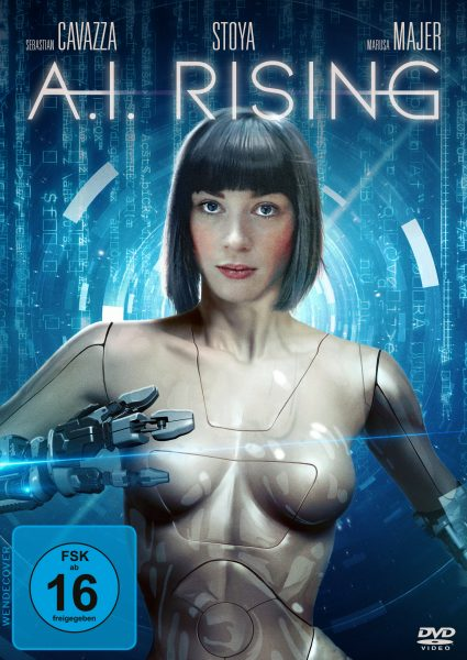 A.I. Rising DVD Front