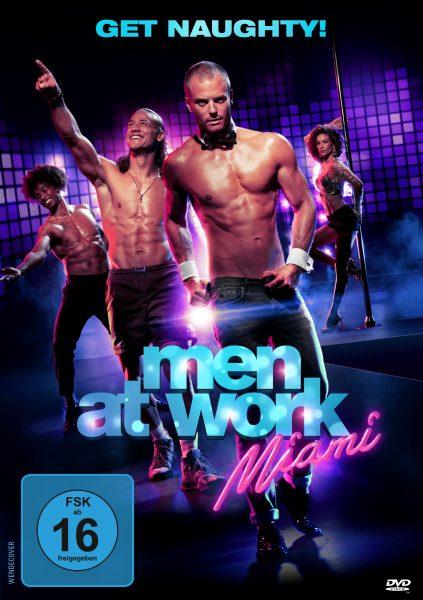 Men at Work: Miami DVD Front