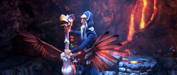 Clara und der magische Drache Szenenbild